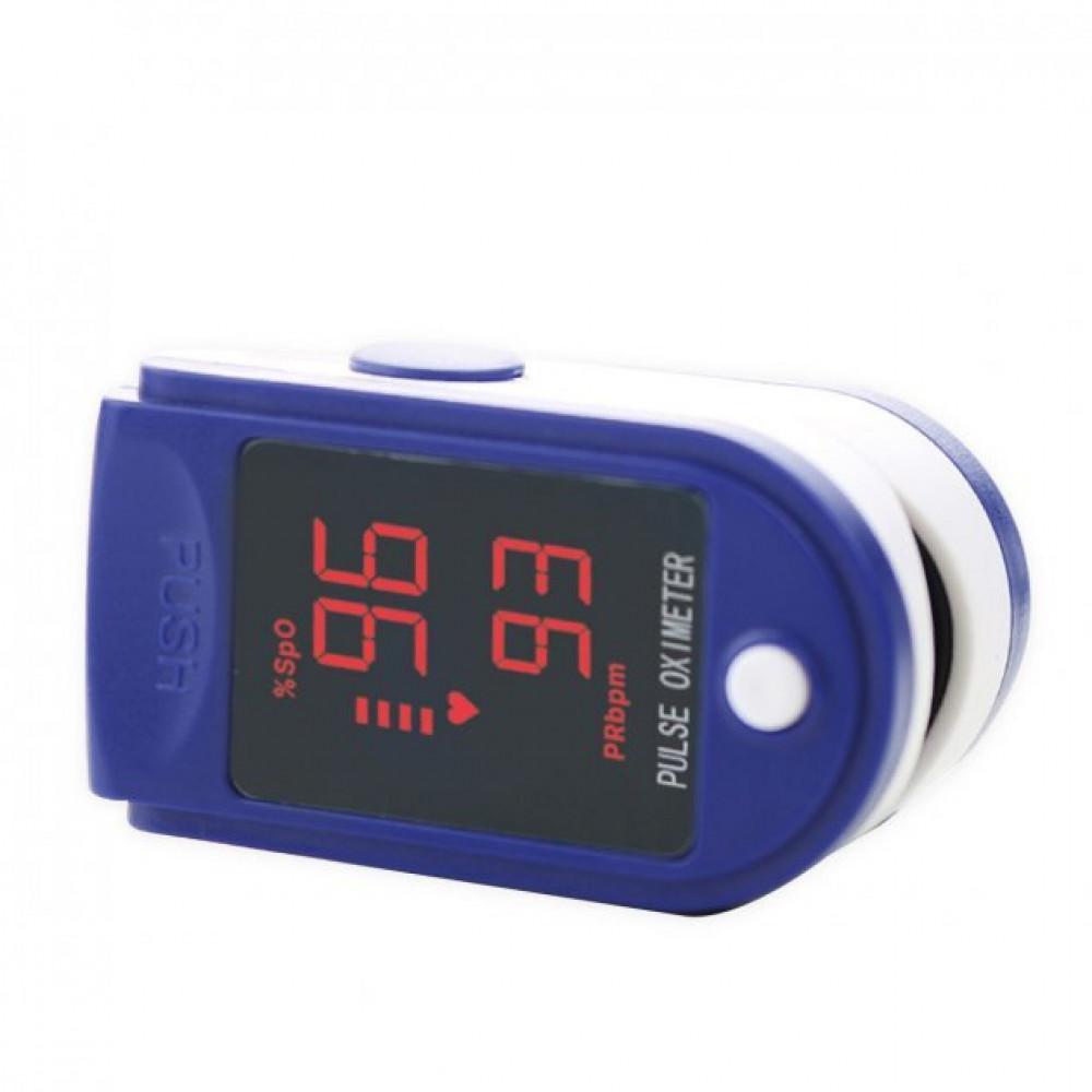 Пульсоксиметр электронный на палец Pulse Oximeter