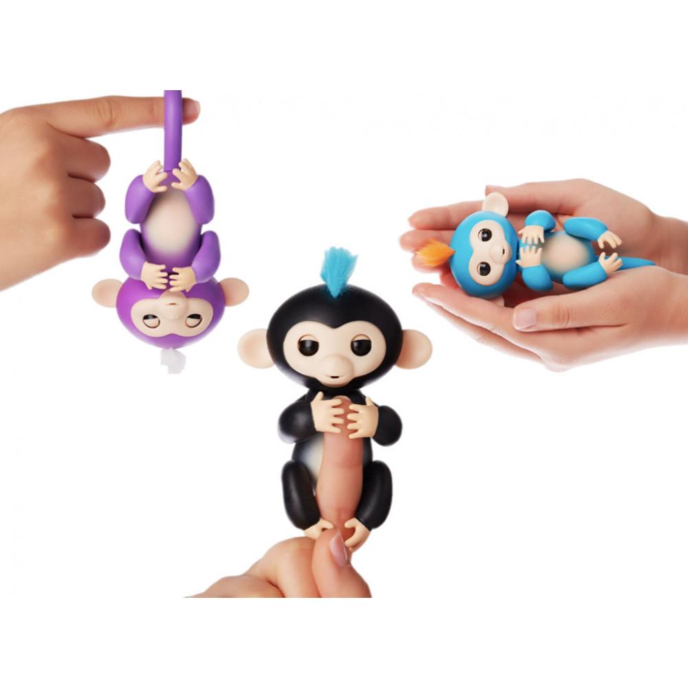 Игрушка интерактивная обезьянка Фингерлингс (Прилипунцель, Фингер Манки)