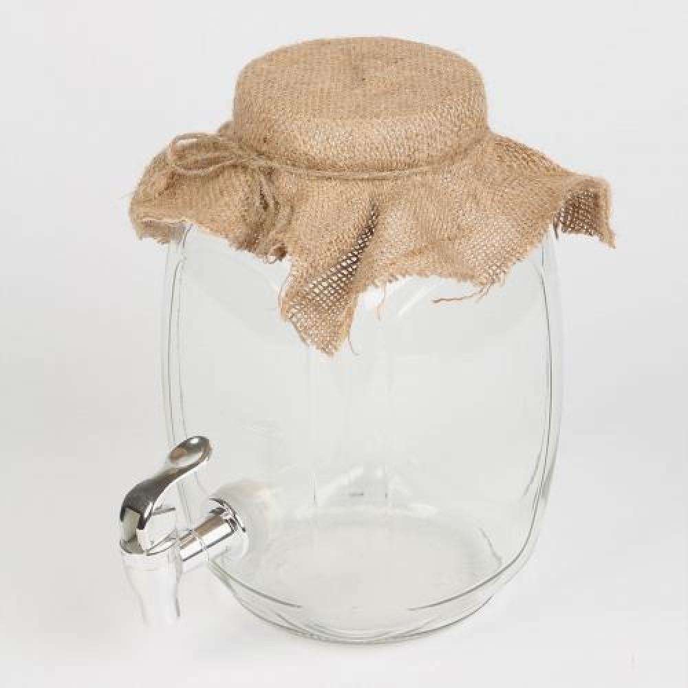 Набор «Чайный гриб» – банка с дозатором и чайный гриб в комплекте