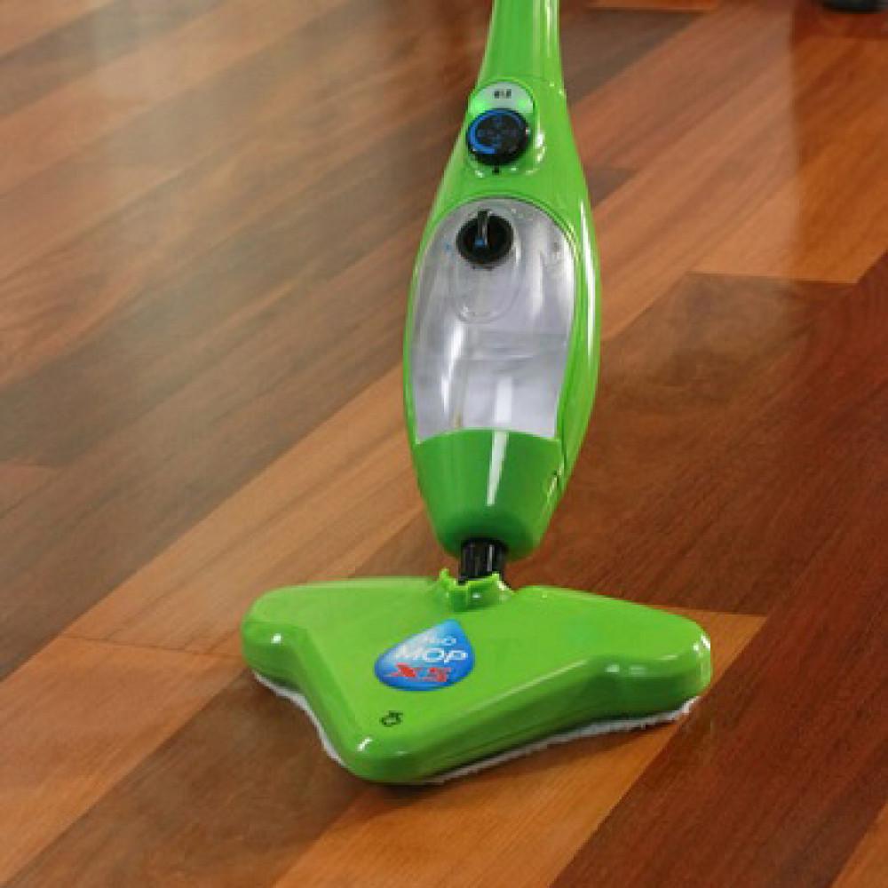 H2O Mop X5 Зеленая паровая швабра