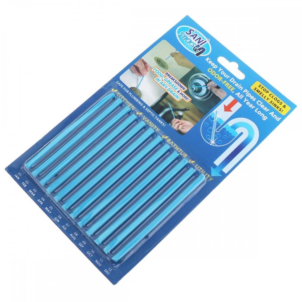 Палочки для очистки водосточных труб Sani Sticks (Сани Стикс)