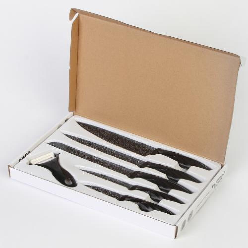 Ножи «Сила гранита» – 6 предметов в наборе