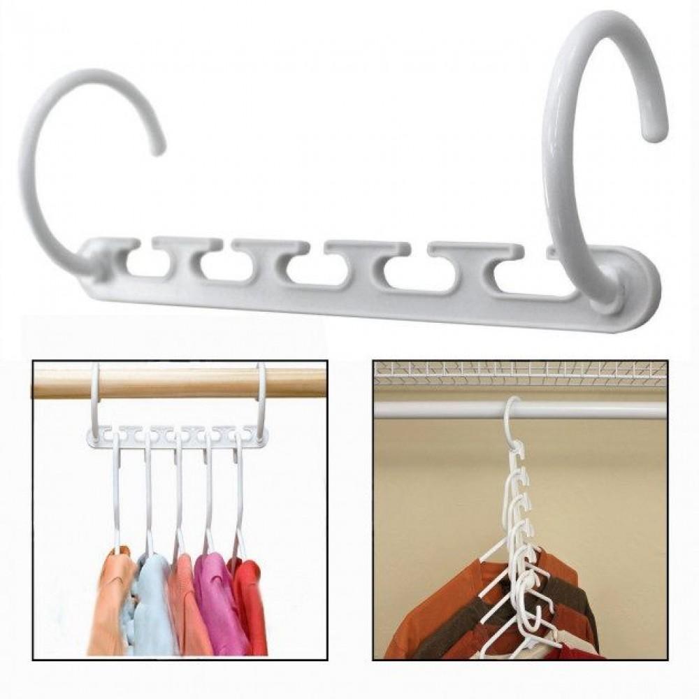 Вешалки для одежды Вондер Хангер (Wonder Hanger) – набор 8 шт.