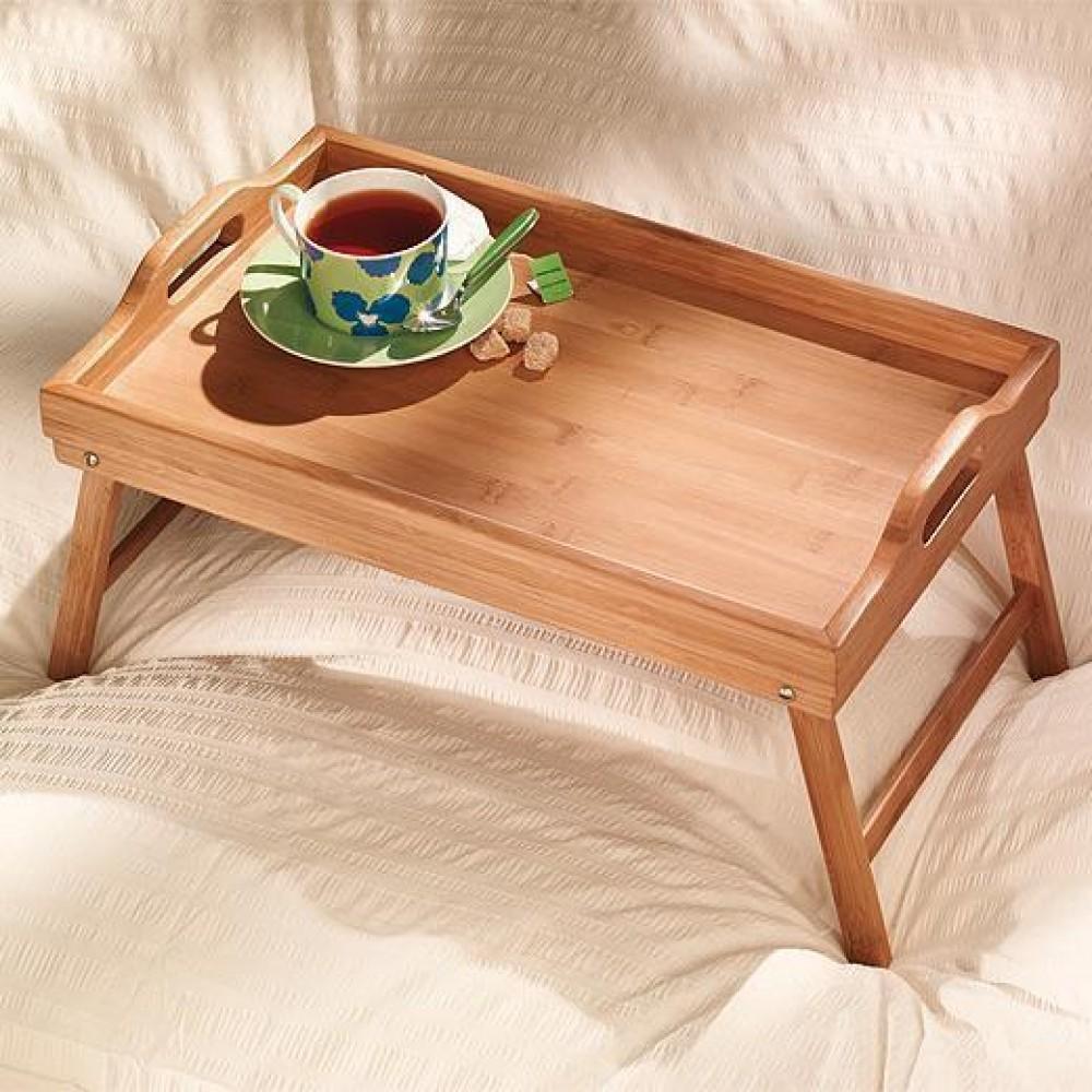 Столик для завтрака бамбуковый