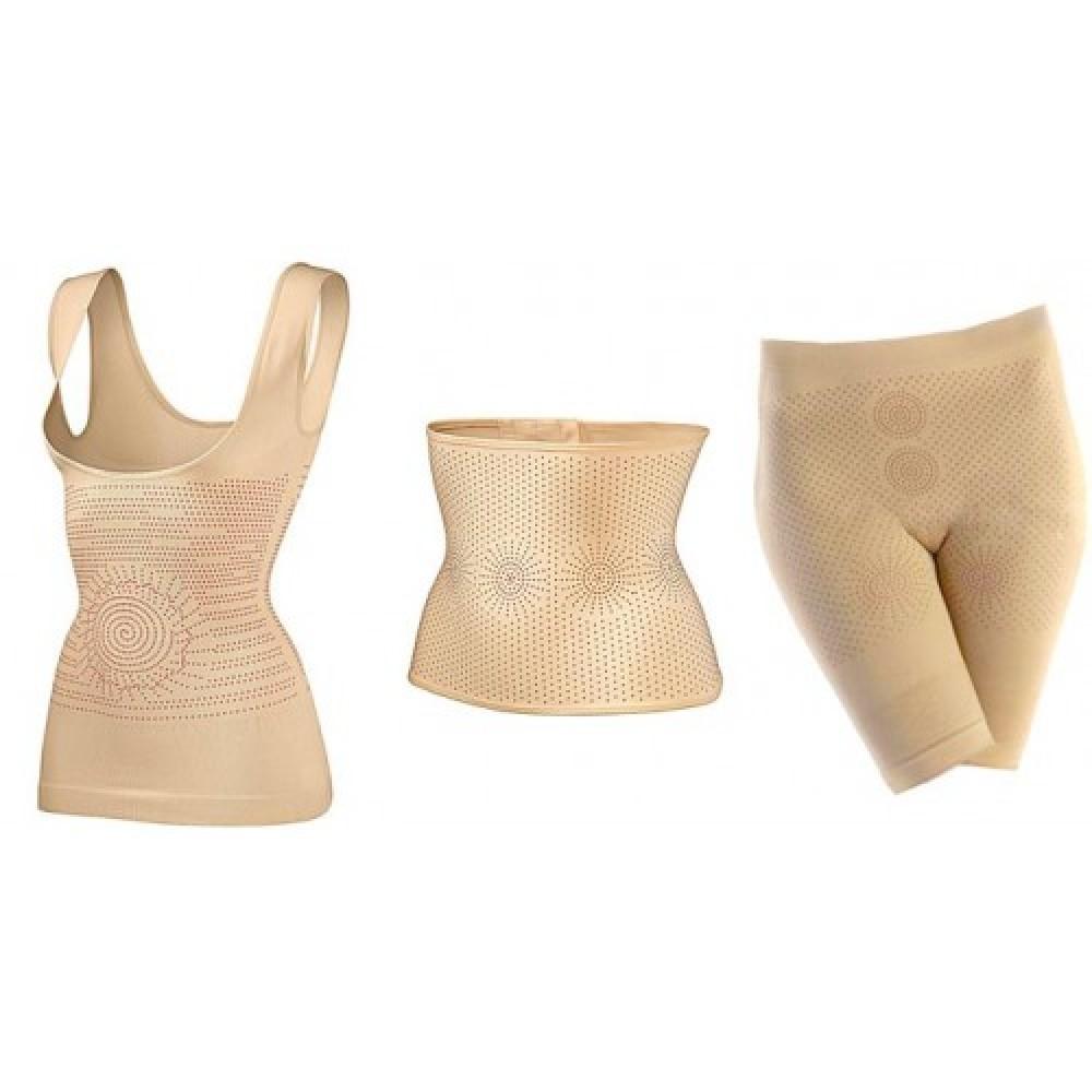 Утягивающее белье Фир Слим (шорты, топ и пояс в комплекте)
