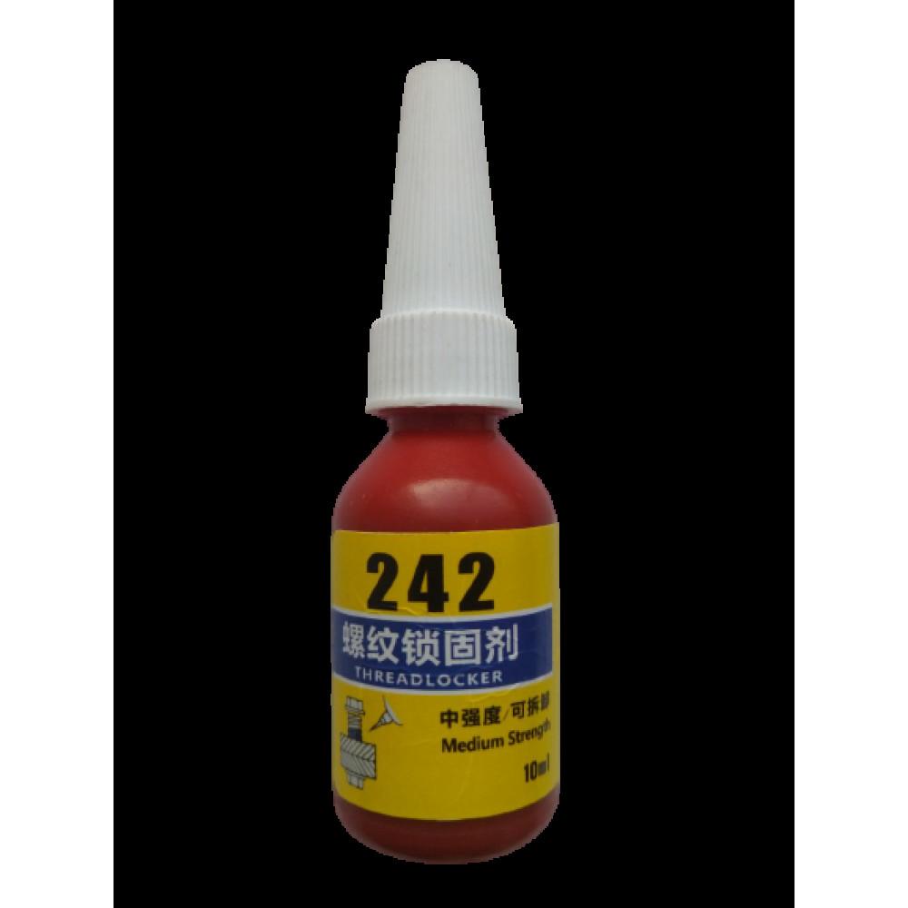Клей-герметик резьбовой 242 (синий)