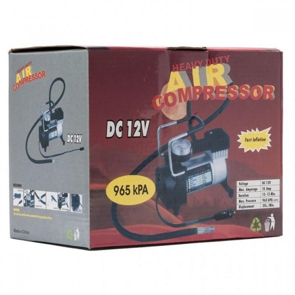 Компрессор автомобильный Heavy Duty Air Compressor DC-12V