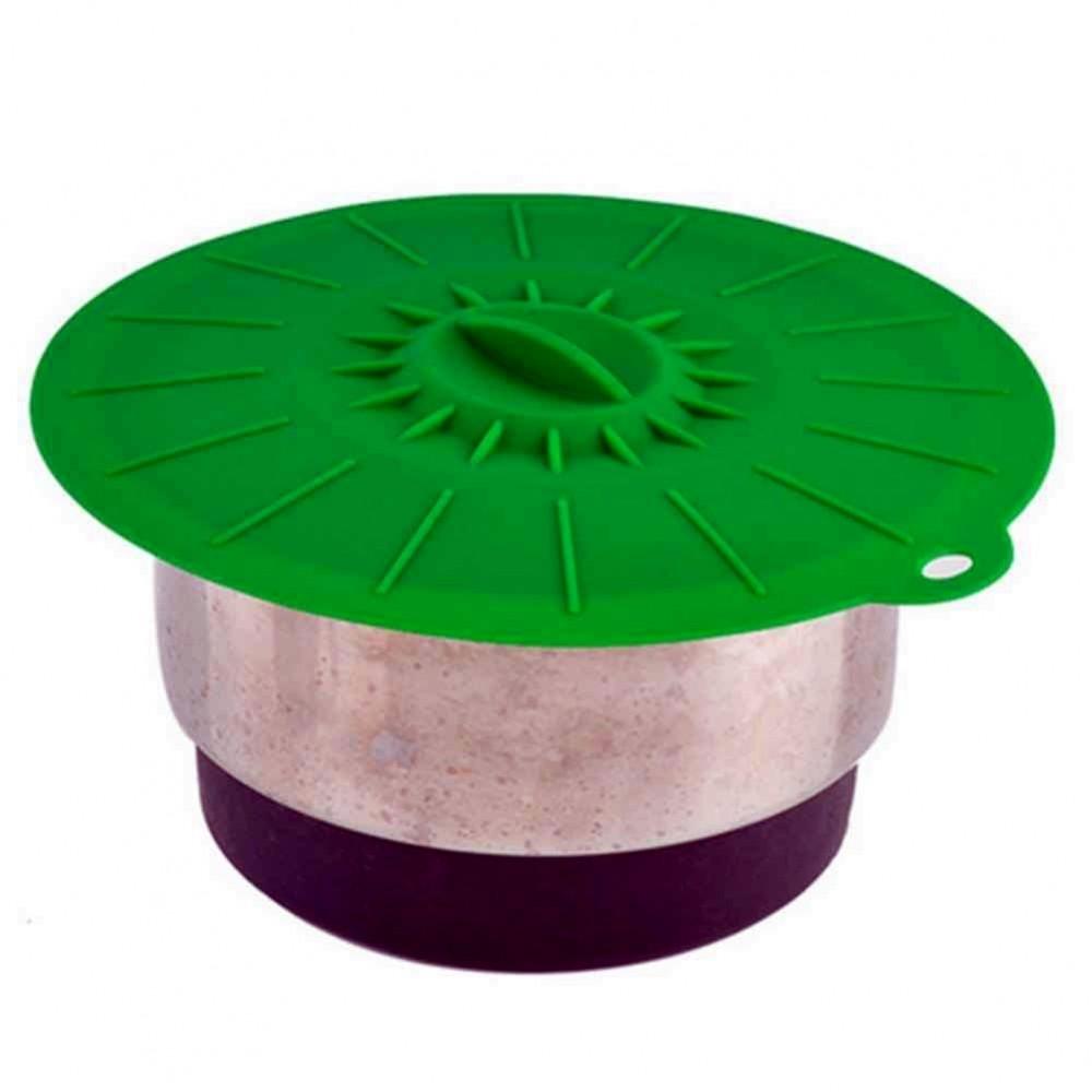 Крышки для кастрюль силиконовые 5 штук
