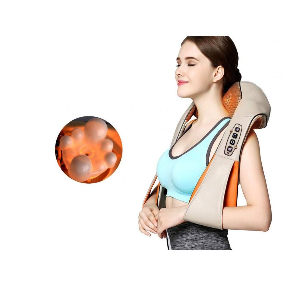 Массажер для шеи и спины с удобными ручками X-tens