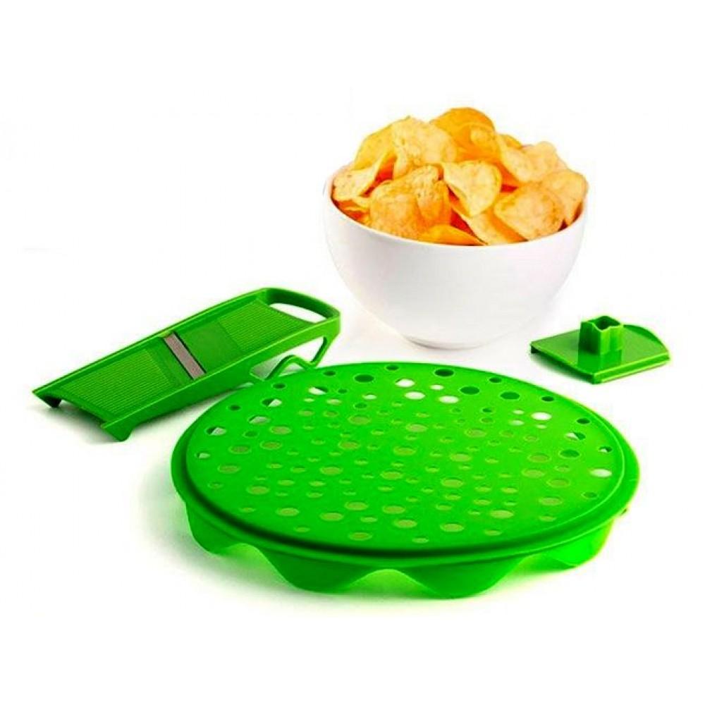 Набор для приготовления чипсов в микроволновке