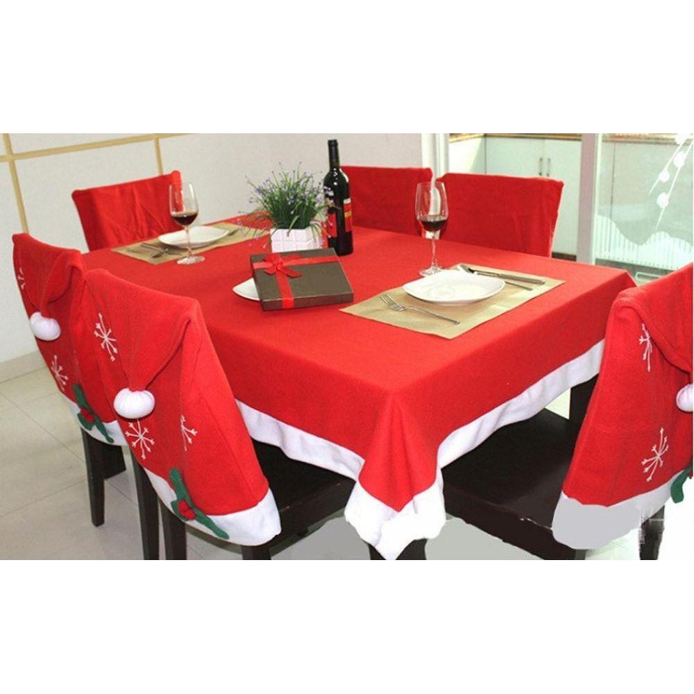 Новогодний набор украшений для стола – 5 изделий в комплекте