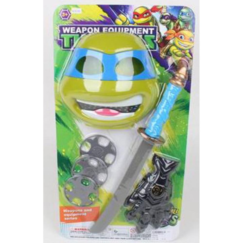 Игровой набор Черепашки ниндзя «Оружие с маской»