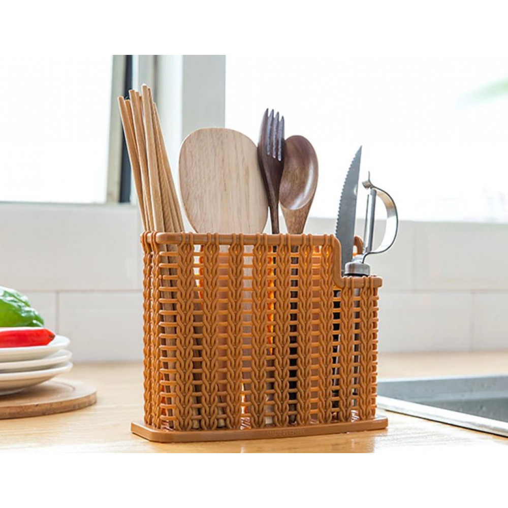 Органайзер плетеный для кухни (пластиковый)