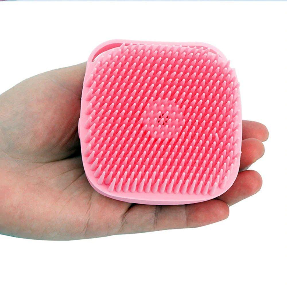 Щетка-мочалка с отсеком для мыла