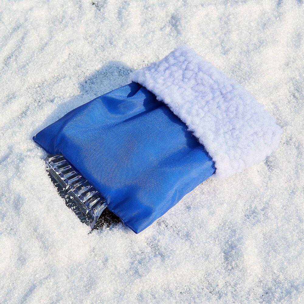 Скребок для снега и льда (с варежкой)