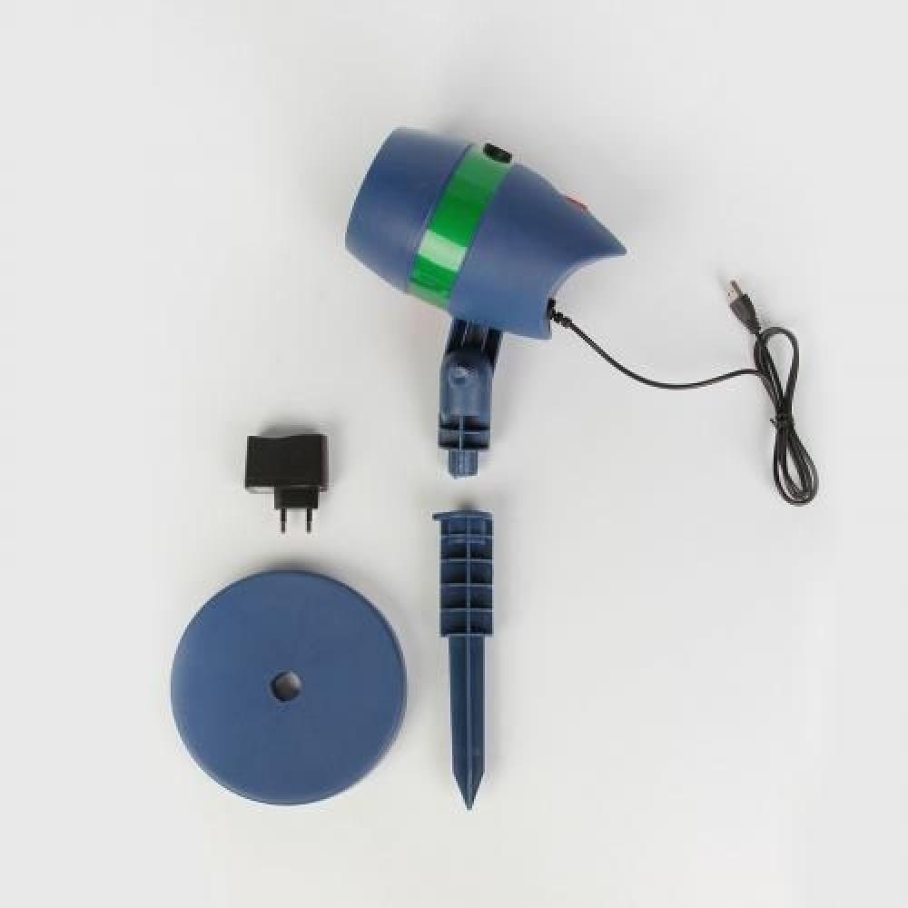 Проектор «Звездный дождь» 4 в 1 (лазерный)